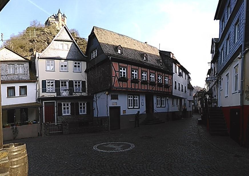 Am Plan St. Goarshausen -  Januar 2016